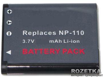 Аккумулятор PowerPlant Casio NP-110