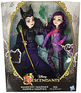 Куклы Наследники Дисней Мэл и Малефисента / Disney Descendants 2Pack Mal Isle of the Lost and Maleficent , фото 9