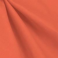 Ткань лен однотонный Ярко-оранжевый