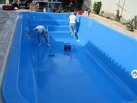 Выбор и процесс нанесения краски для бассейна