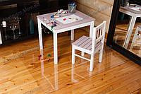 Коврик под кресло для защиты пола прозрачный 70х125см. Толщина 0,8мм