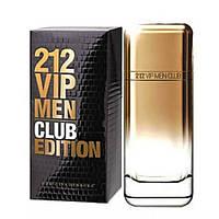 Carolina Herrera 212 VIP Men Club Edition edt Люкс 100 ml. m лицензия