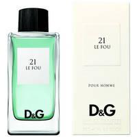Dolce & Gabbana 21 Le Fou Туалетная вода 100 ml. лицензия