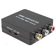 Конвертер AV 3RCA/HDMI (коробка)!Опт
