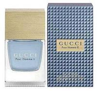 Gucci Pour Homme II ( сине-черная клетка ) edt Люкс 100 ml. m лицензия