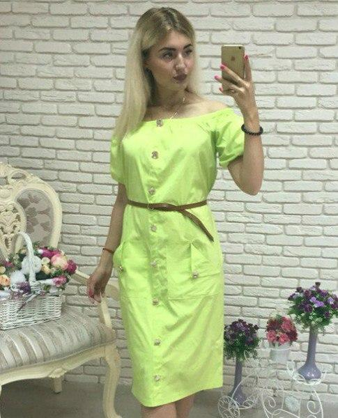 Женское стильное платье,в расцветках