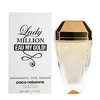Paco Rabanne Lady Million Eau My gold edp Люкс 80 ml. w Тестер лицензия
