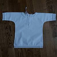 Рубашка для крещения детская домотканое полотно