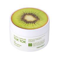 Ночная капсульная маска для восстановления упругости кожи с экстрактом киви Tony Moly Fruity Capsule Tok Tok Kiwi Sleeping Pack(80мл)