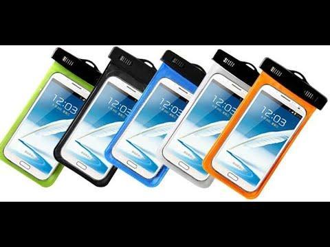 Водонепроницаемый чехол для мобильного телефона 18х10,5 см  (5 цветов)