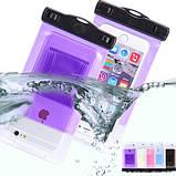 Водонепроницаемый чехол для мобильного телефона 18х10,5 см  (5 цветов), фото 4