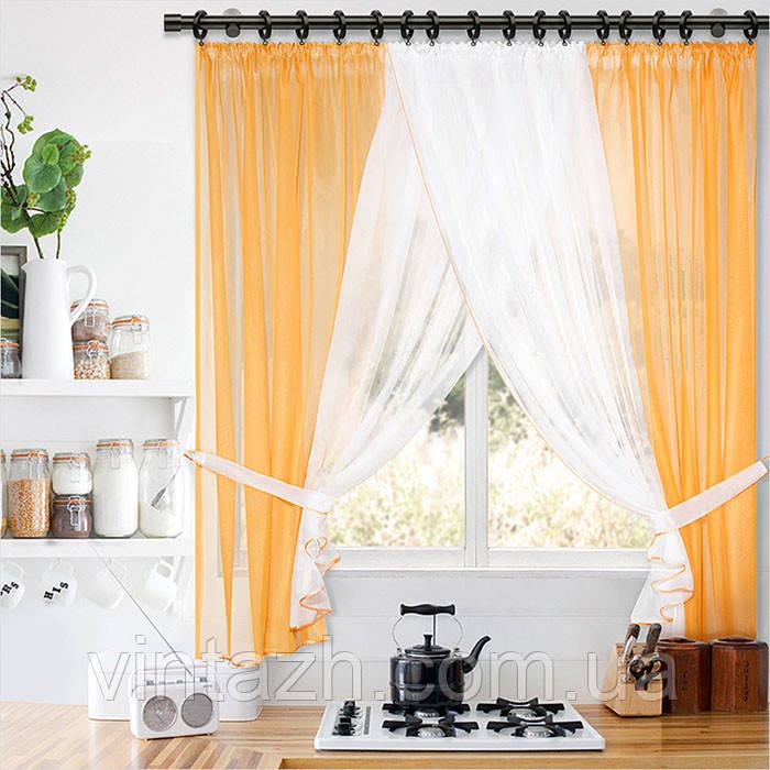 Кухонную занавеску с фото нарядную