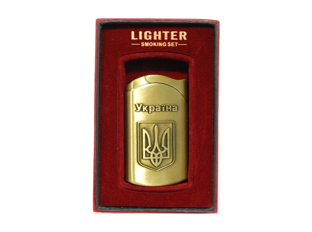 Подарочная зажигалка УКРАЇНА PZ54276