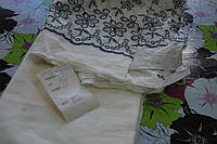 Ткань батист белый купон