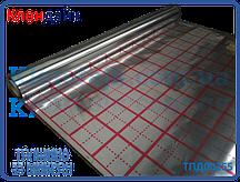 Фольга для теплого пола с разметкой рулон 50 кв/м (55микрон)