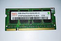 Оперативная память для ноутбука DDR2 SODIMM 2Gb, Hynix, 667MHZ