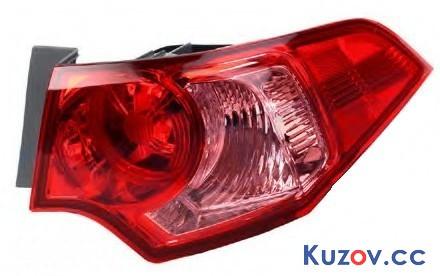 Задний фонарь Honda Accord 8 08-13 EUR правый (Depo) европ. версия 217-19A4R-UE 33500TL0G11