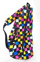 Сумка Чехол для Самоката детского трехколесного Scooter Maxi Mini Micro - Pixel с карманом и мягкой спинкой