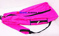 Сумка Чехол для Самоката детского трехколесного Scooter Maxi Mini Micro - Pink с карманом и мягкой спинкой