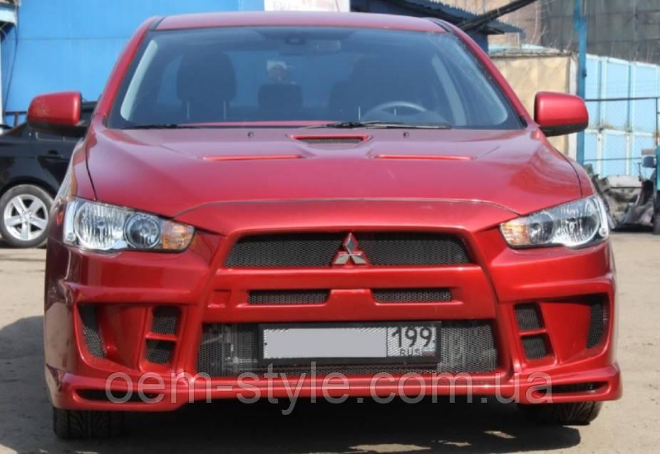 Капот EVO Mitsubishi Lancer X