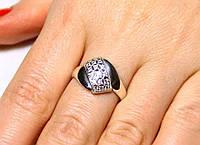 Кольцо серебро 925 проба 19 размер АРТ191, фото 1