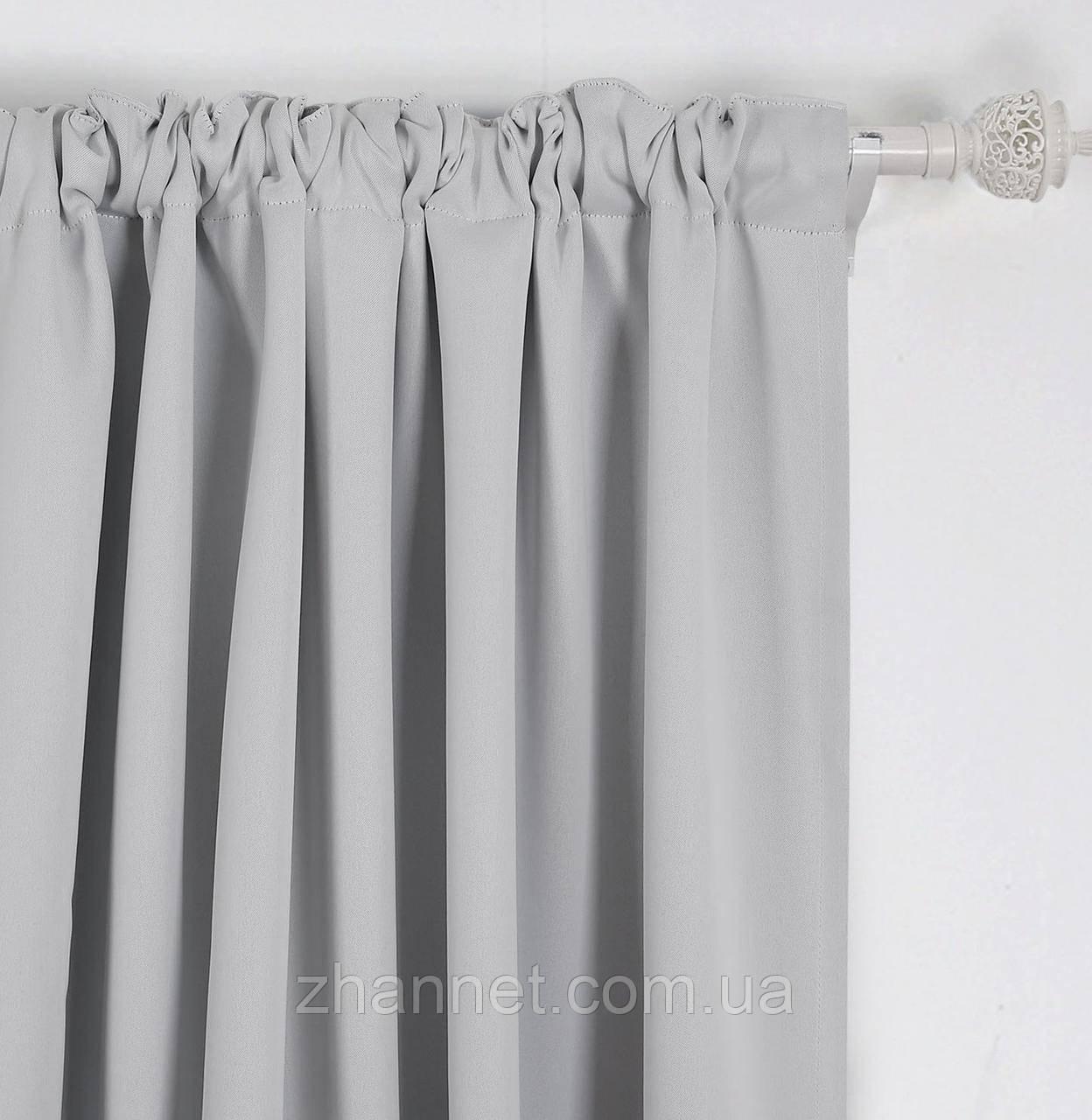 Ткань Блекаут светло-серый 280 см (507821)