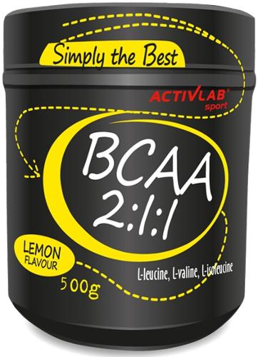 Activlab BCAA 2:1:1 500 g, Активлаб БЦА 2:1:1 500 грамм