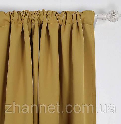 Ткань Блекаут старое золото 280 см (648731)