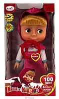 Кукла 60942 Маша и медведь, интерактивная, говорит 100 фраз
