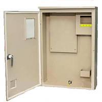 Шкаф навесной ЩУР-3Ф-8А1 уличный большой электрон (420*320*140) ABIC-НIК-КО