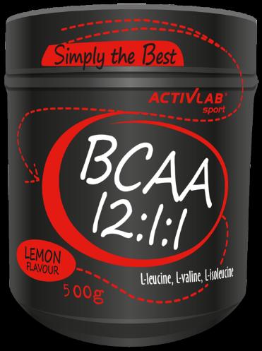 Activlab BCAA 12:1:1 500 g, Активлаб БЦА 12:1:1 500 грамм