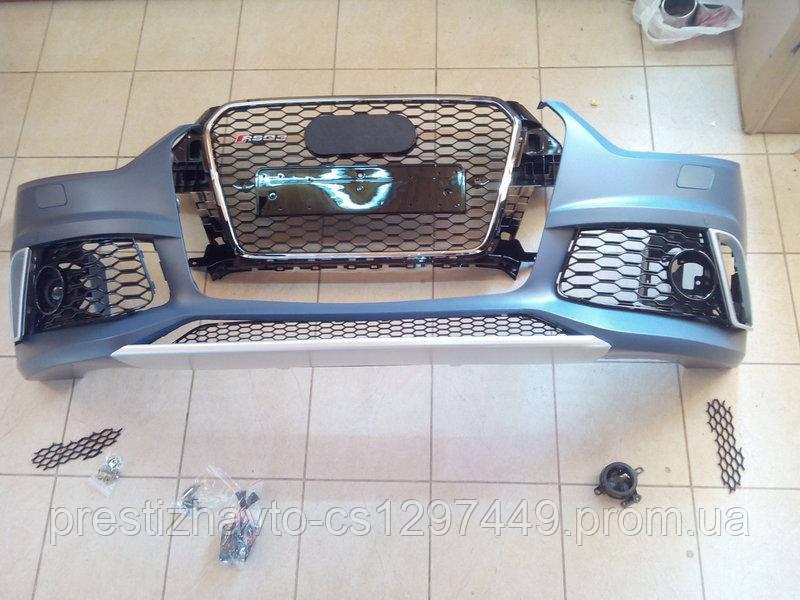 Передний бампер на Audi Q3