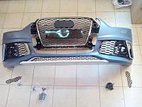 Передний бампер на Audi Q3 , фото 1