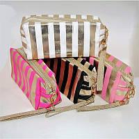 Косметичка, сумочка для косметики 21х8х11 см, цвета в ассортименте