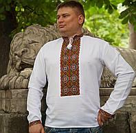 Вишита сорочка Традиційна (ручна робота) - 52 розмір/43 воротнік