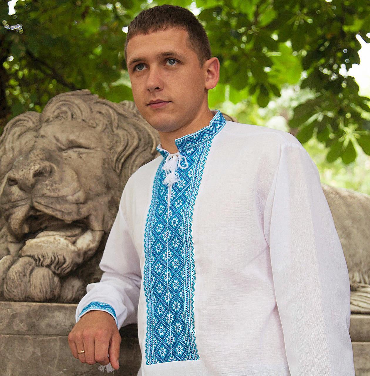 Вышиванка мужская - домоткана тканина (ручна робота)  продажа 905364d3fd294