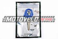 Ключ замка зажигания (заготовка) Yamaha JOG (с эмблемой, длинный, синий) KOMATCU