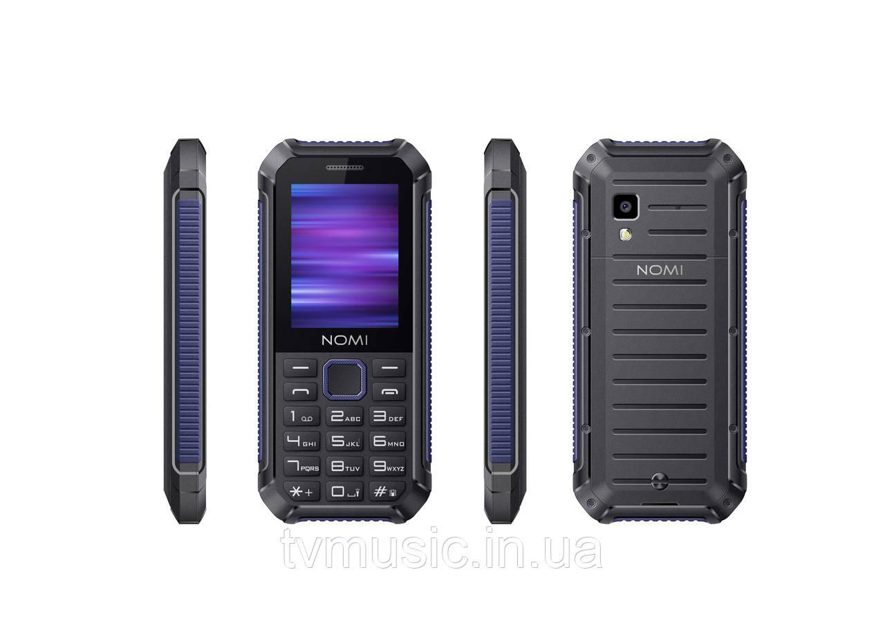 Мобильный телефон Nomi i245 X-Treme Black Blue