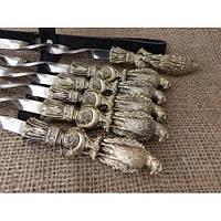 """Шампура ручной работы """"Ястреб"""" в чехле из ткани (набор шампуров  6шт)"""