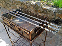 Шампур для люля-кебаб без деревянной ручки (3мм, 95см)