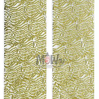 Наклейка-стикер 3D-Nail 2шт YK-125 золото орнамент, фото 2