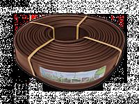 Бордюр ровный коричневий