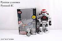Робот интерактивный PLAY SMART 9184 Защитник планеты на радиоуправлении стреляющий дисками