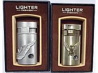 Подарочная зажигалка 2х режимная (острое пламя + огонёк) LIGHTER PZ44200