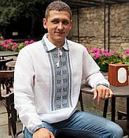 Вишита сорочка (100% льон) - 43 ворот (L-XL)