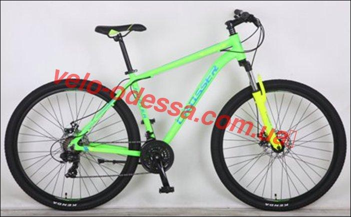 Горный велосипед CROSSER 29 дюймов HUNTER рама 21 салатовый