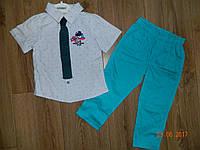 Нарядные костюмы для мальчика с галстуком на рост 92 см, 98 см, 104 см, 110 см