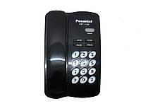 Телефон Posantel T-1129 черный, стационарный телефон, проводной телефон, телефон стационарный домашний
