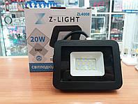 Светодиодный прожектор Z-light 20W 6500K IP65 SMD LED