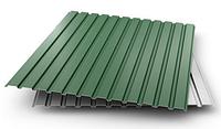 Профнастил  С-10 (0,4 мм) Зеленый (порезка под Ваши размеры)